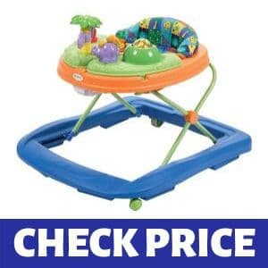 Safety 1st Dino Sounds 'n Lights Discovery Baby Walker with Activity Tray Review
